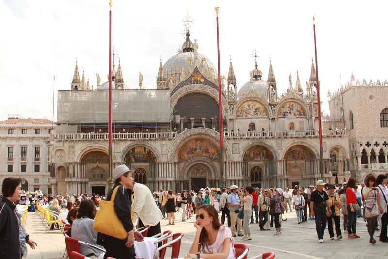 St. Mark's Basilica in Venice.