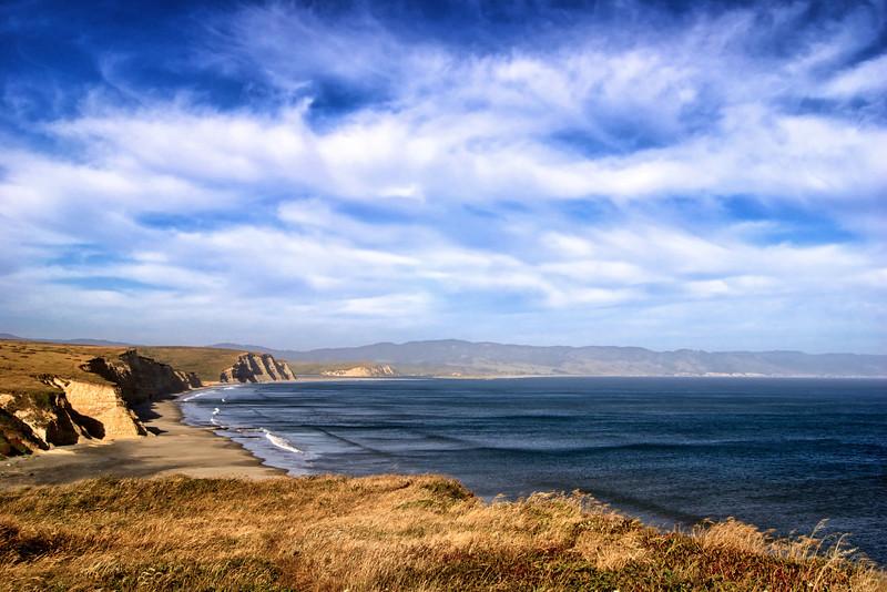 Drakes Bay. California Coast. ref: 518bd864-1db1-4b12-8f2b-539fa34d8c98