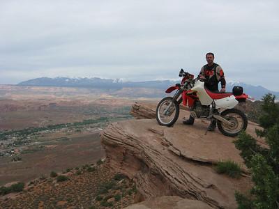 Moab, Utah Dual Sport Trip  May 23-26, 2008