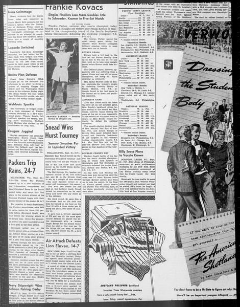 Daily Trojan, Vol. 33, No. 13, September 20, 1941