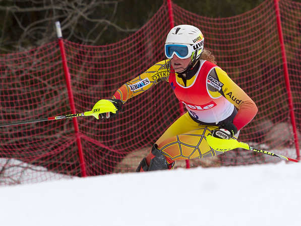 Ski Racing - FIS Spring Series - Women's Slalom - Panorama - April 3, 2012