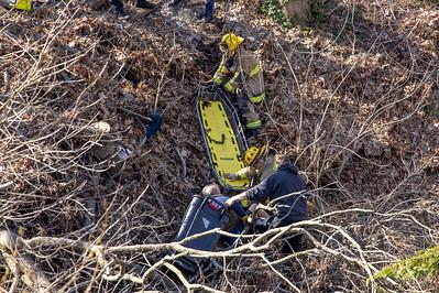 Laurel St. Low Angle Rescue (Shelton, CT) 3/30/21