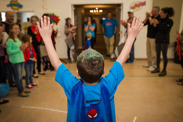 We beat leukemia, whats your superpower?