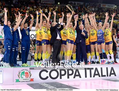 #Finale #CoppaItalia «Imoco Volley Conegliano - Liu•Jo Nordmeccanica Modena»