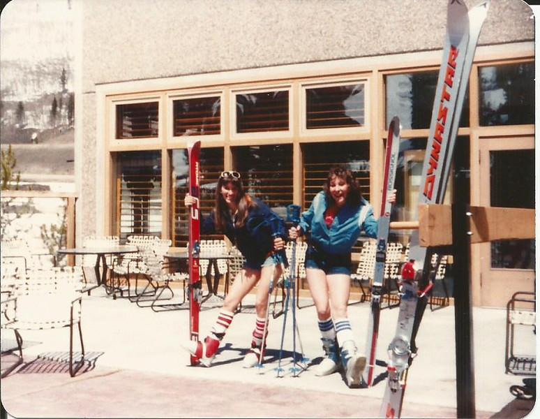 Sue and Lisa, 1981 Spring Skiing.jpg