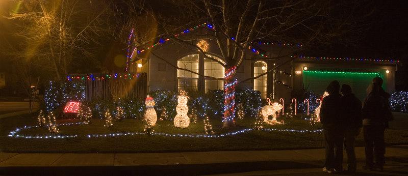 Cory Christmas Lights 2006