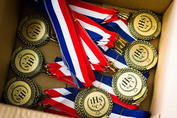 2013.05.18 - Senior All-Star Meet medals
