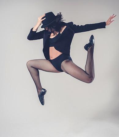 Fosse dance challenge with Elena.
