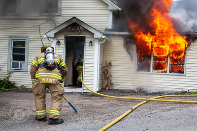 2 Alarm Dwelling Fire - Main St, Leicester, MA - 6/7/20
