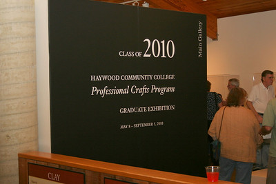 Haywood Class of 2010 - Professional Crafts