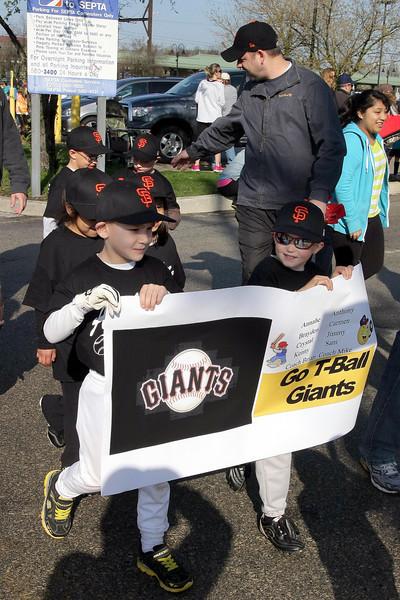 Ambler Junior Baseball Opening Day
