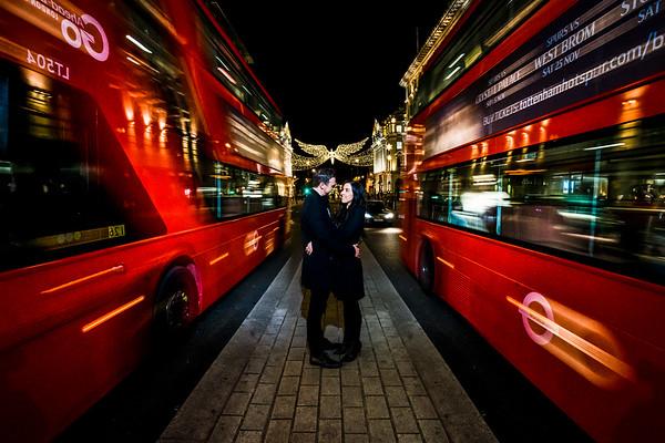 Carley & Paul - Engagement Shoot - London