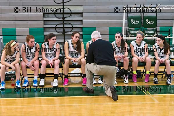 G JV2 Basketball Notre Dame Acad v Westwood 1-16-15
