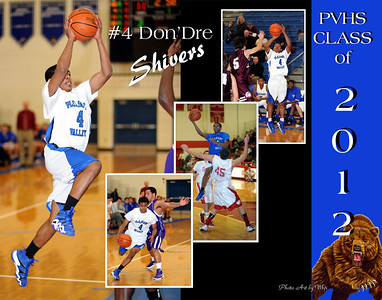 2012 PVHS Basketball Posters