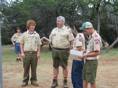 2005 July - Mr. Garrett