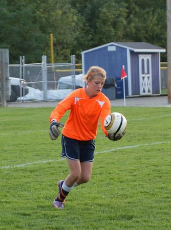 2011 Oakwood Varsity Girls vs Eaton