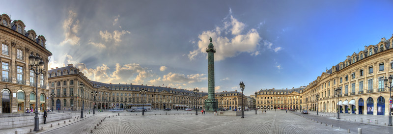 Place Vendome - Paris, France - April 20, 2011