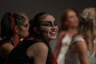 Dracula 2012 - Warmup and Dress