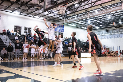 2020.02.17 Boys Basketball: Heritage @ Dominion