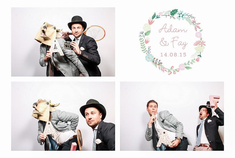 Adam and Fay Wedding