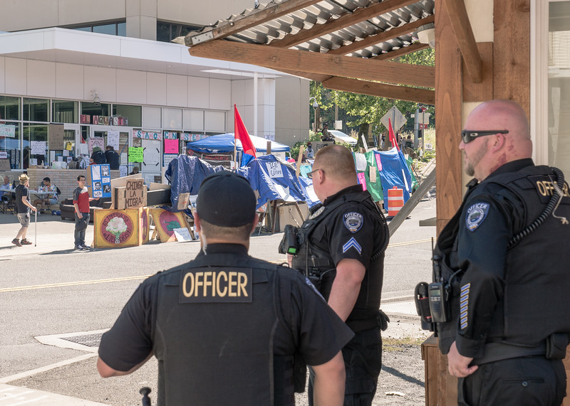 Occupy ICE PDX Camp