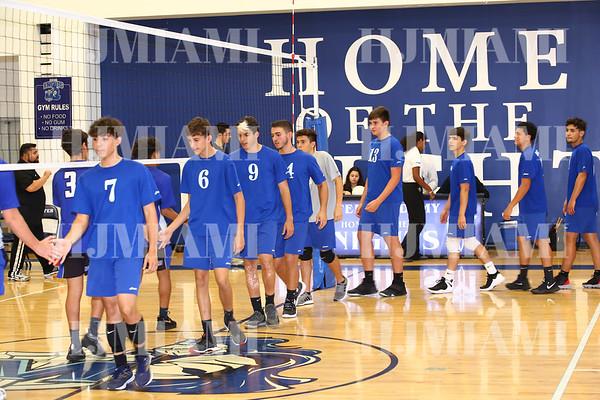 Boys JV Volleyball 03-01-19