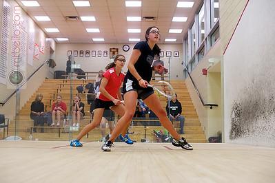 2011-02-19 Sophie Voorhees (Colgate) and Amanda Georgescu (Northeastern)