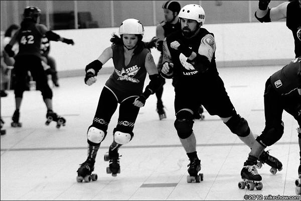 Terminal City Roller Girls vs Vancouver Murder, February 4, 2012