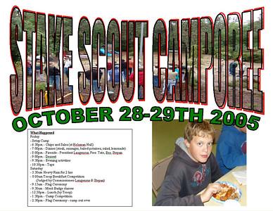 2005-10-29 SJS Scout Camporee