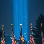Towers of Light Pentagon (Photographed by John Harrington)