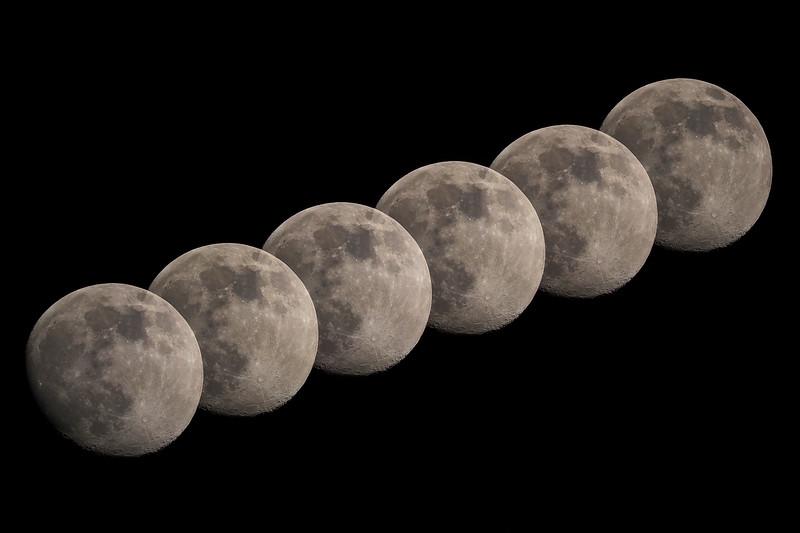 Gibbous moon 93% 24th April 2021