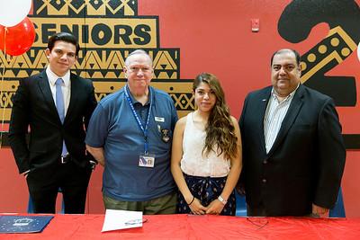 El Dorado High School Signing Melissa De Sousa Signing