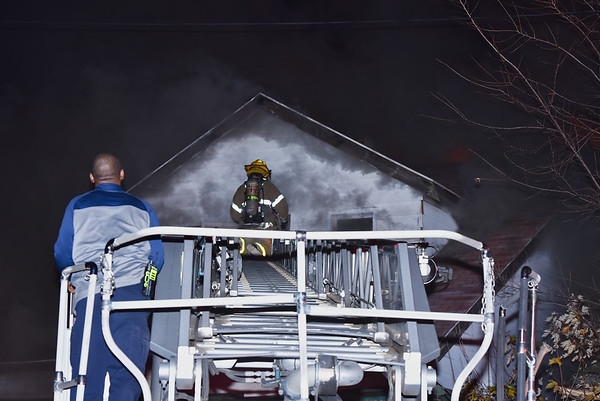 Detroit, MI. Box Alarm Lewrence & Petoskey 11-08-18