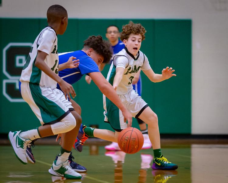 Middle School Basketball   Central Dauphin vs. Steelton-Highspire   February 10, 2020