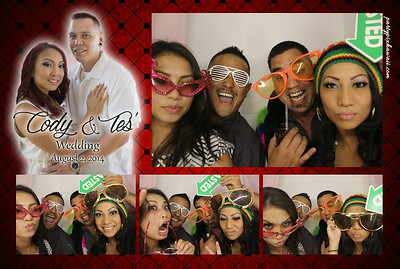 Cody & Tes' Wedding (Luxury Photo Booth)
