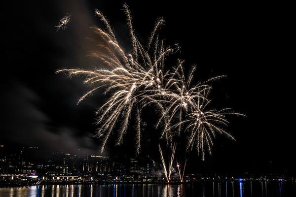 National Cherry Blossom Festival Fireworks
