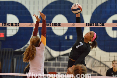 Volleyball:  Broad Run at Stone Bridge (Photos by Tom Lighton)