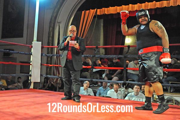 Bout 15 Jeff Hughes, Evolve MMA, Canton -vs- Dajuan Calloway, Empire BC, Cleveland, S. Heavy, Novice
