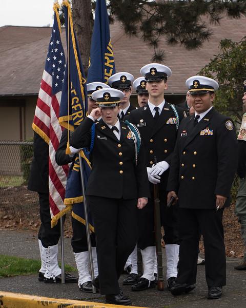 Auburn Veterans Day Parade 2017