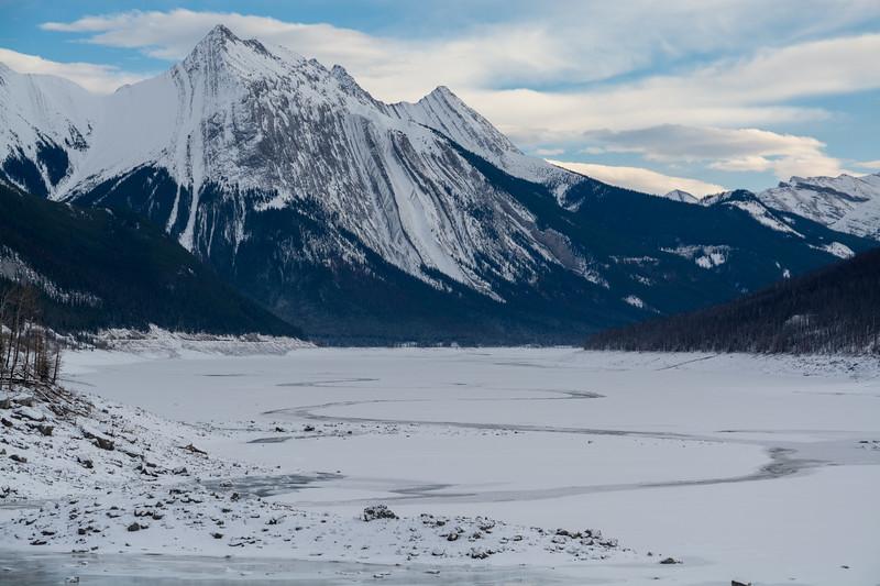 Medicine Lake & Annunciation Peak