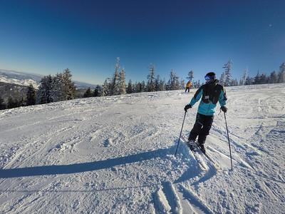 Third Time Skiing - Jan 5, 2017
