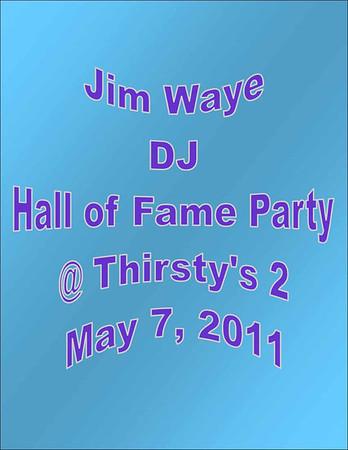 2011 Jim Waye Hall of Fame Party