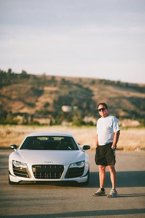 Tom New Car (Audi R8)
