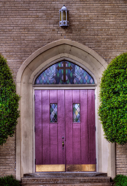 First Baptist Church Entrance, Newport, AR