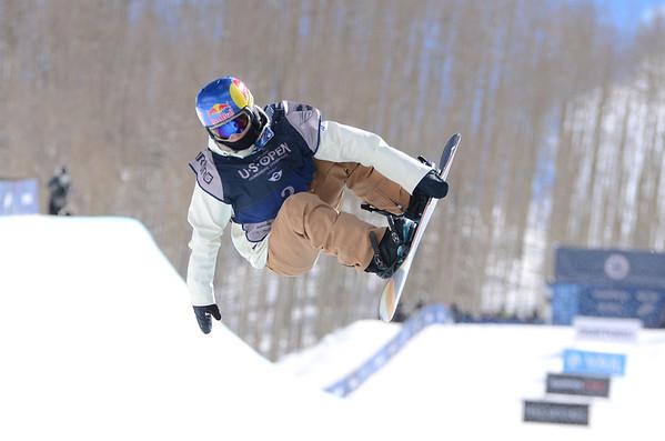 Burton 2014 US Open Snowboard Championships - Women's 1/2 Pipe Finals