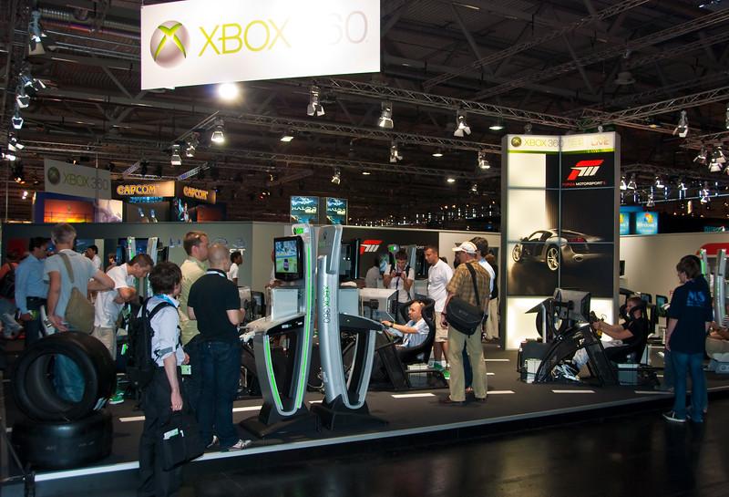 Xbox 360 at GamesCom