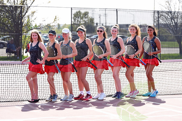 Lakota West Girls Tennis (Pre-Game Pics) 9.21.17