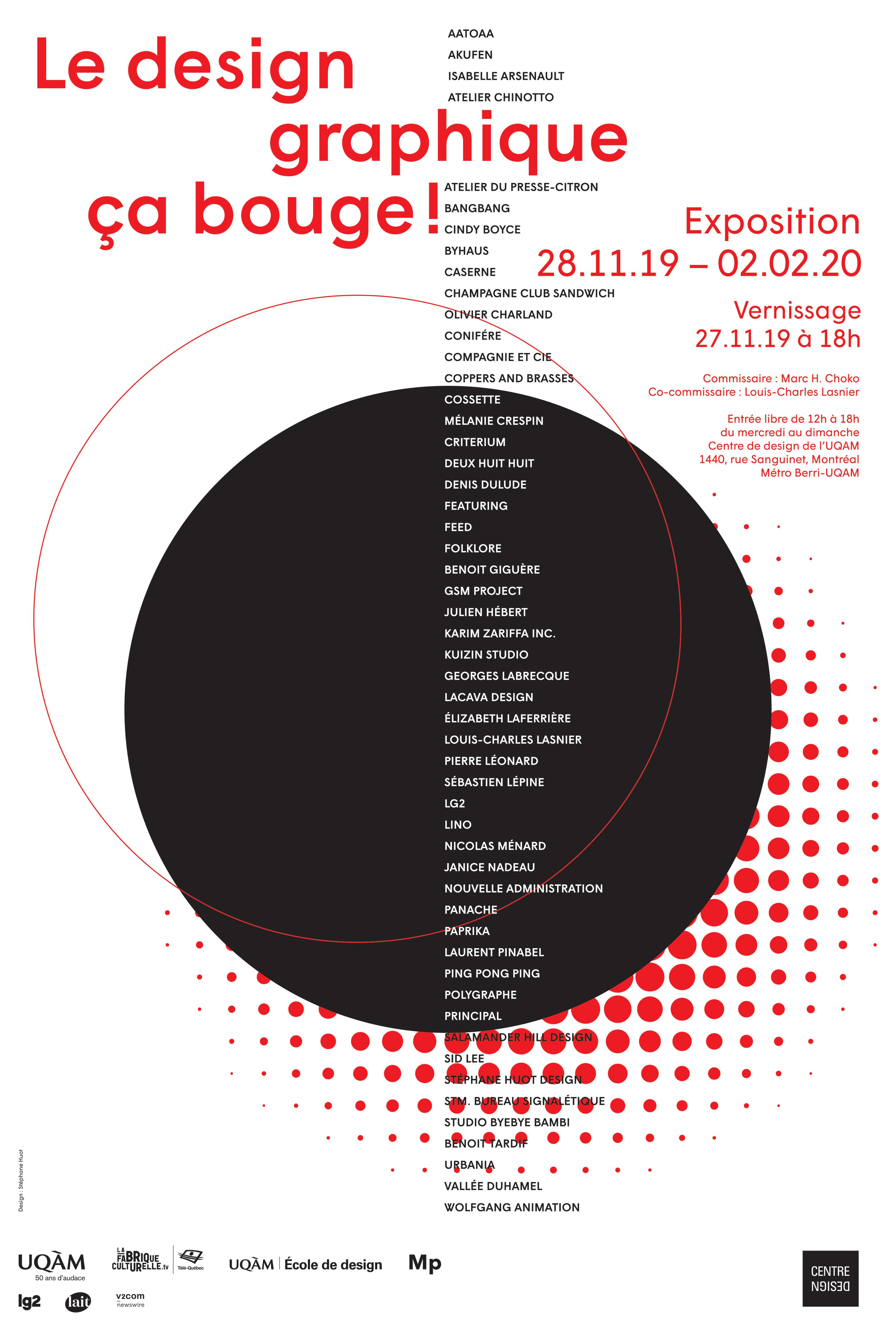 2019 - Exposition - Le design graphique, ça bouge © Stéphane Huot