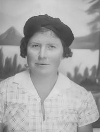 Alice LeGrande during the 1930's in Oklahoma