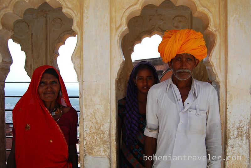 Rajasthani Family portrait in Jodhpur.jpg